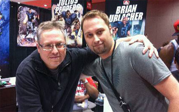 DARON KAPPAUFF is an English professor and proposal writer in St. Louis Missouri. Here with Ron Marz.