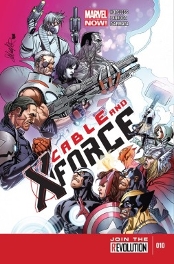 Cable and X-Force 010-000
